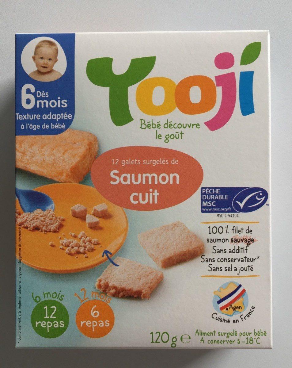 Galets surgelés de saumon cuit - Producto