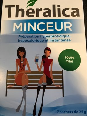 Theralica Minceur - Soupe Thaï 7 Sachets - Theralica - Informations nutritionnelles - fr