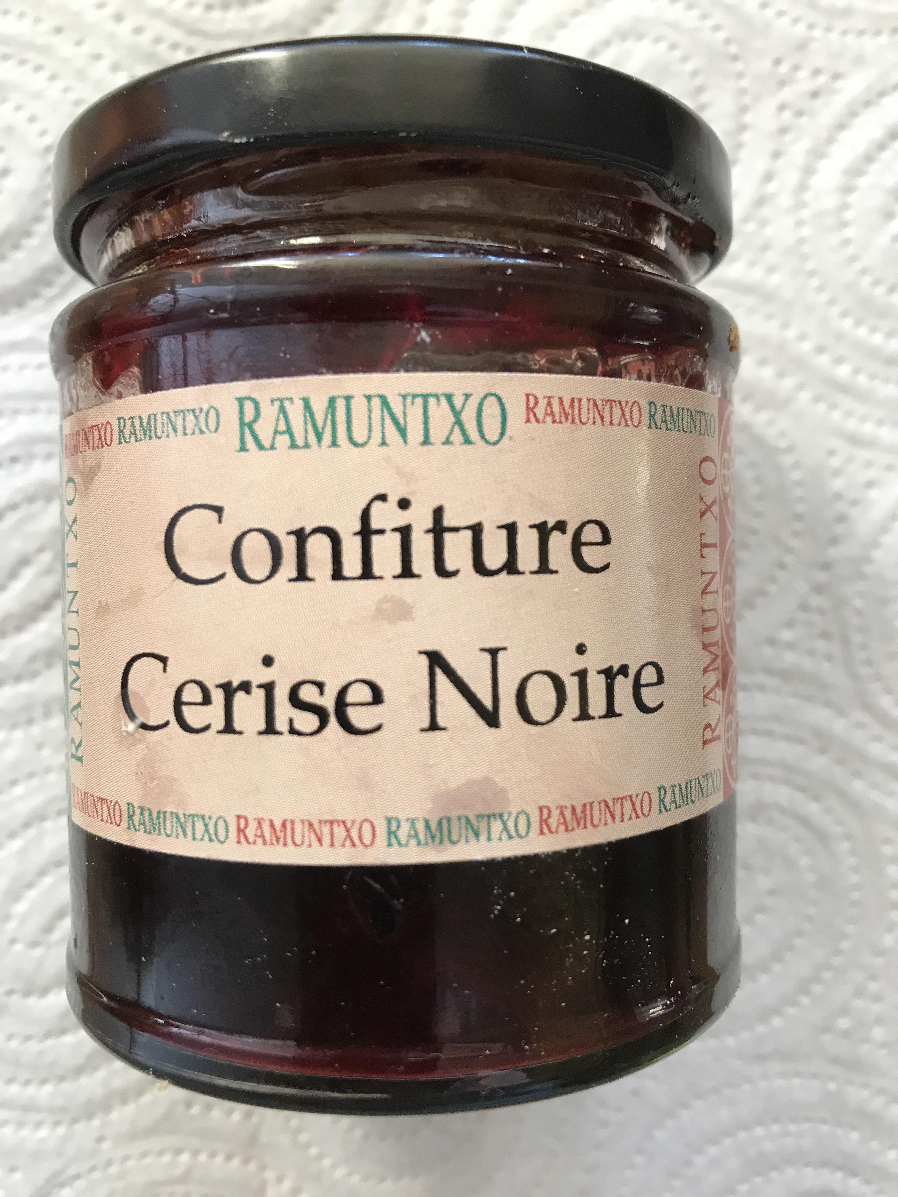 Confiture Cerise Noire - Produit - fr