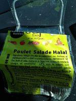 Sandwich poulet salade halal - Produit - fr