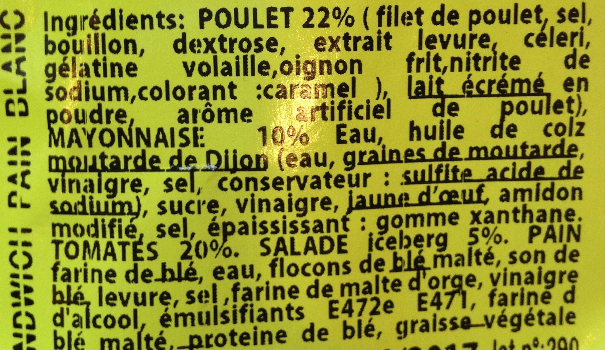 Créa frais - Informations nutritionnelles - fr