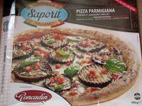 Pizza Parmigiana fromage et aubergines grillées - Produit