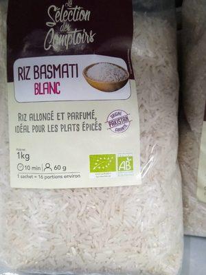 Riz basmati blanc - Product - fr