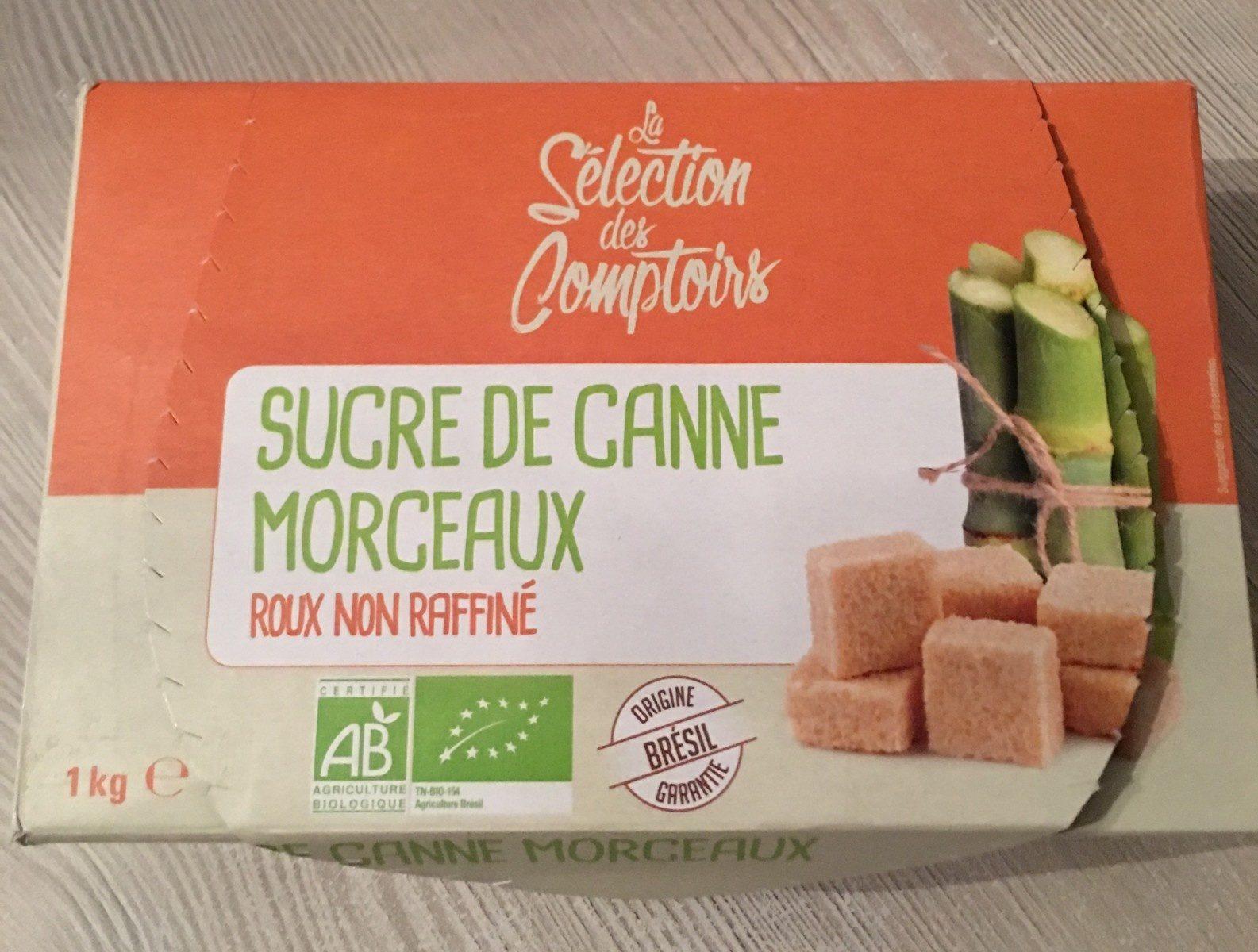 Sucre de canne morceaux - Product