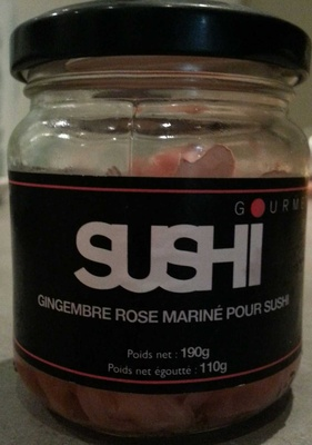 Gingembre rose mariné pour sushi - Product - fr