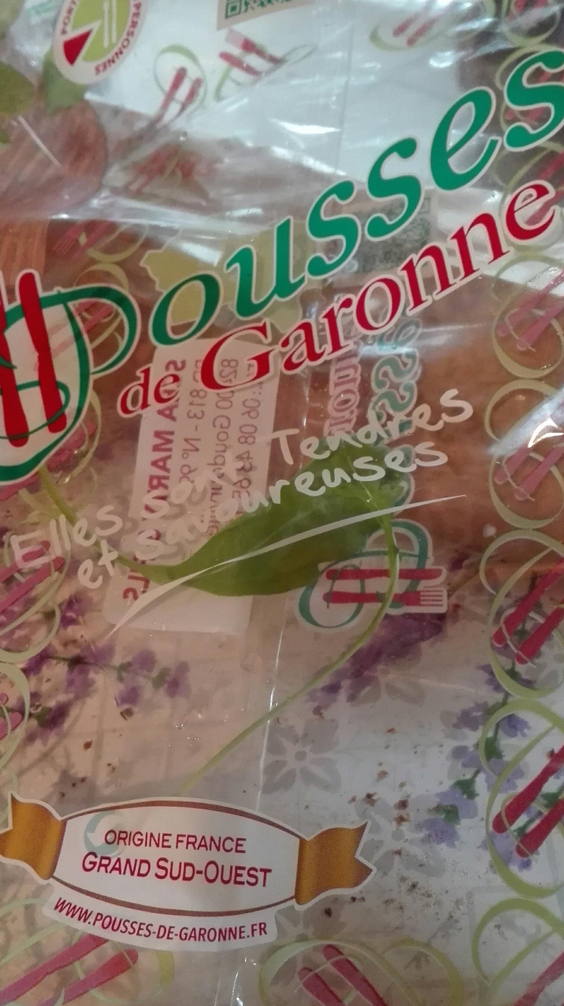 pousses de Garonne - Produit - fr