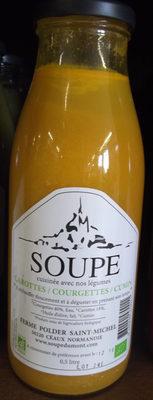 Soupe Carottes / Courgettes / Cumin - Produit - fr