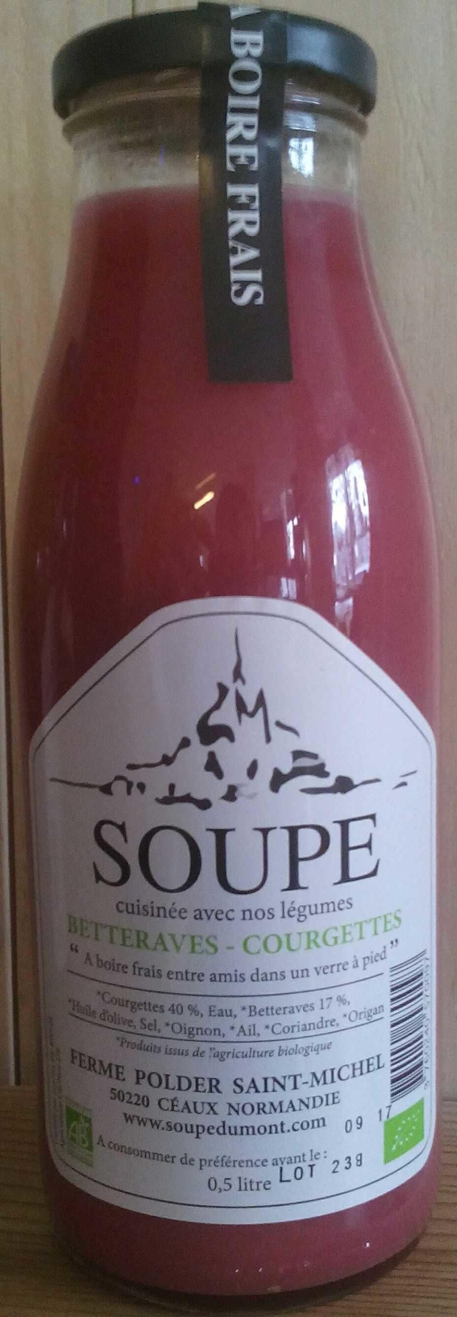 Soupe Betteraves - Courgettes - Produit