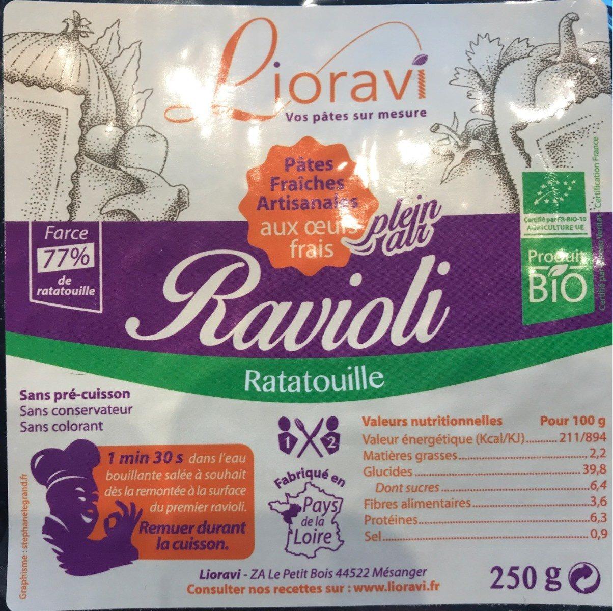 Ravioli Ratatouille - Product