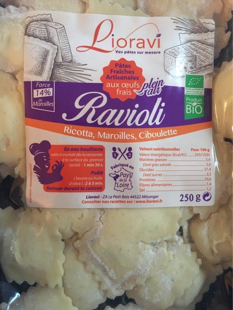 Ravioli maroilles ciboulette - Product
