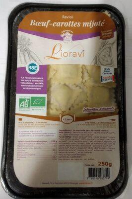 Ravioli boeuf-carottes mijoté - Product