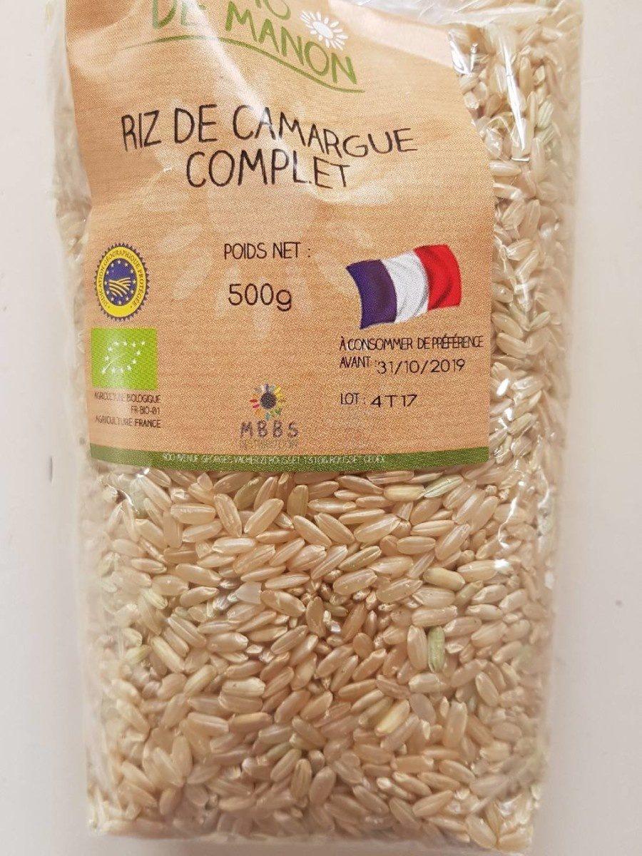 Riz de Camargue complet - Produit - fr