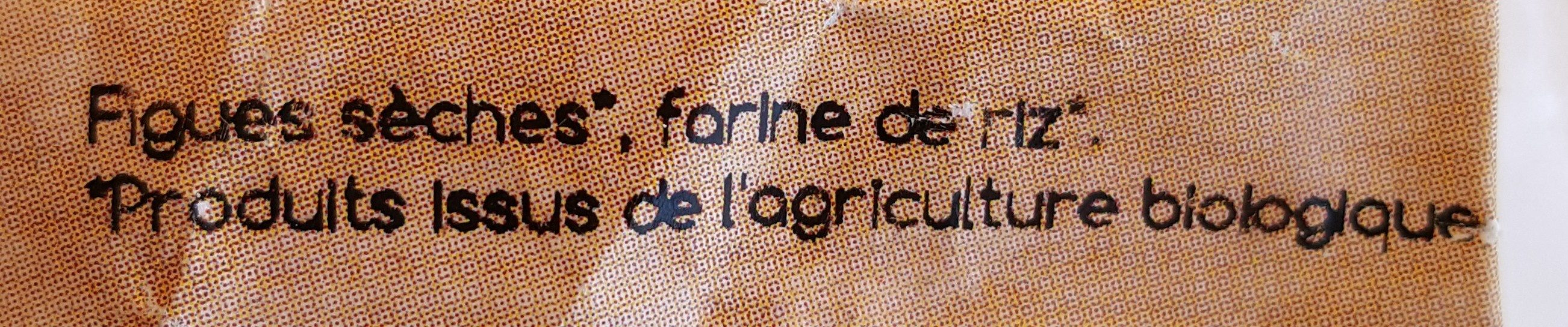 Figuettes - Ingrédients - fr
