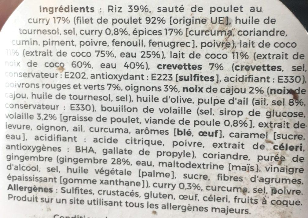 Yaourt - Ingrédients - fr