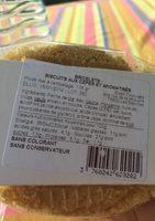 BRICELET Biscuits aux cèpes et aromatisés - Ingrédients