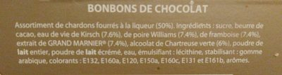 Chardons à la liqueur - Ingredients