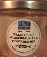 Rillettes de maquereaux à la moutarde bio - Product