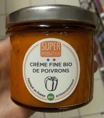 Crème fine bio de poivrons - Produit
