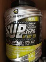 SUB ZERO - Product