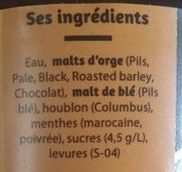 Prenez un chewing-gum Émile - Ingredients