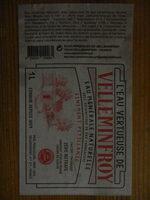 L'eau vertueuse de Velleminfroy - Finement pétillante - Informations nutritionnelles - fr