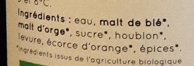 La Blanche du Gers - Ingrediënten