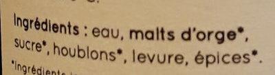 La Rousse du Gers - Ingrediënten - fr