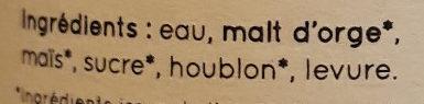 La Blondinette du Gers - Ingrediënten - fr