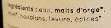 La Valentine du Gers - Ingrediënten - fr