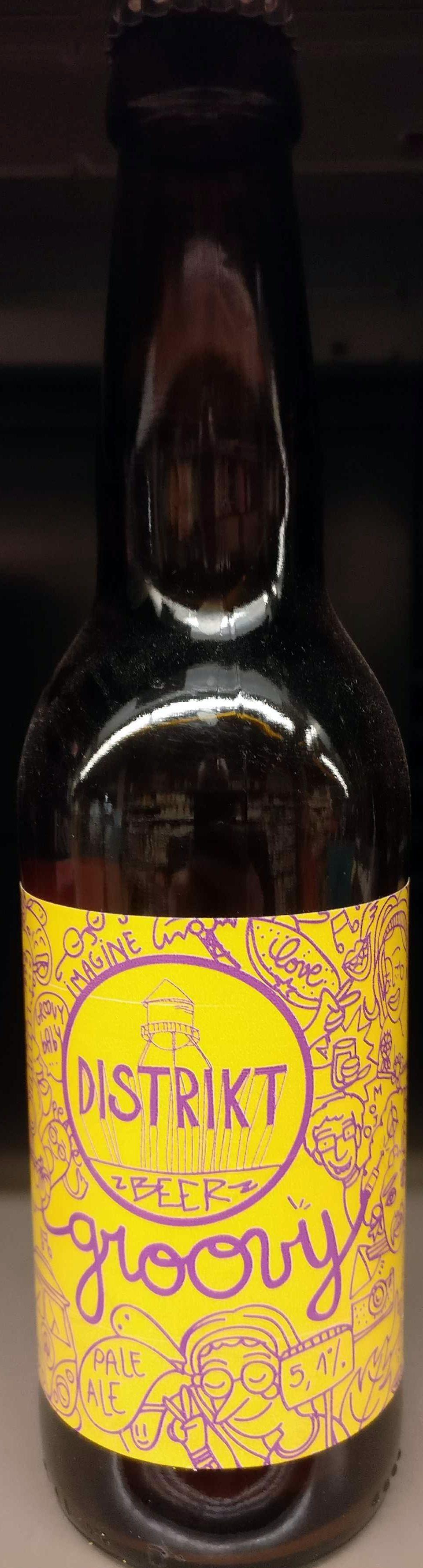 Groovy Pale Ale - Produit