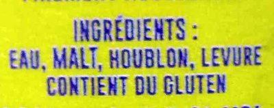 Groovy Pale Ale - Ingrédients