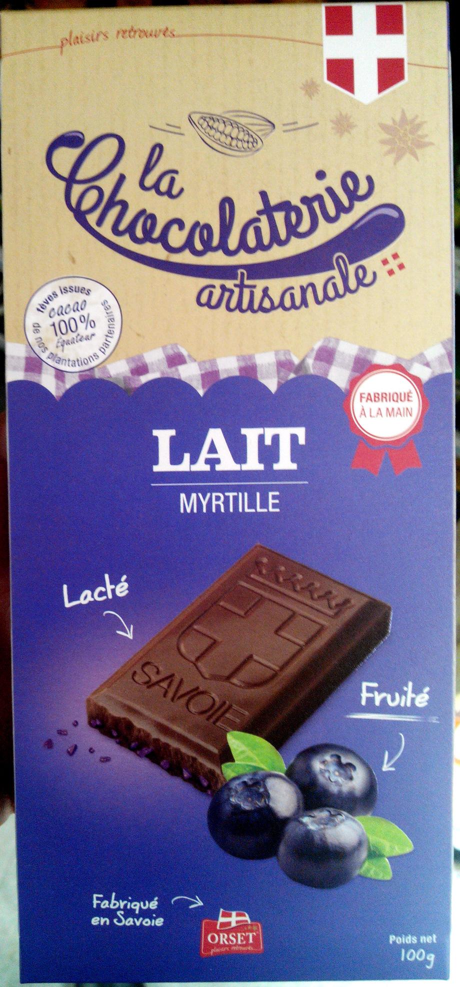 Lait Myrtille - Product