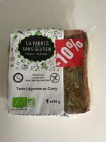 Tarte Légumes au Curry - Product - fr