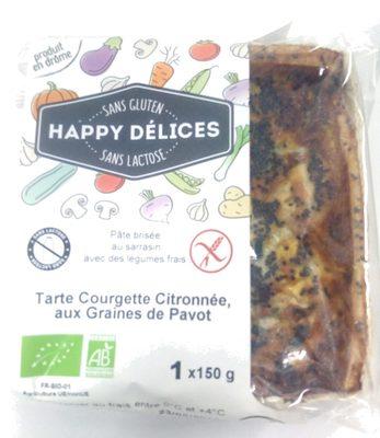 Tarte Courgette Citronnée aux Graines de Pavot - Product - fr