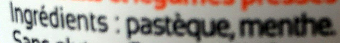 Fresh Kiss 17 Pastèque Menthe - Ingrédients
