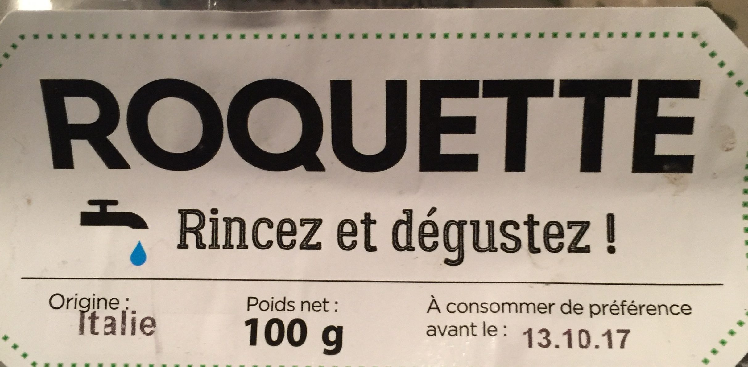Roquette - Ingredients - fr