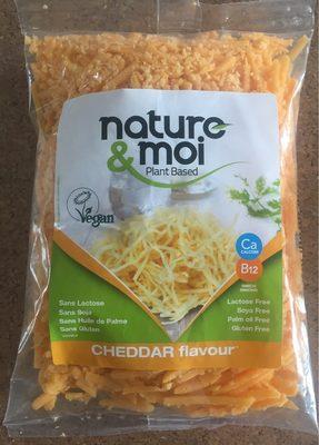 Spécialité vegan - cheddar flavour - 1