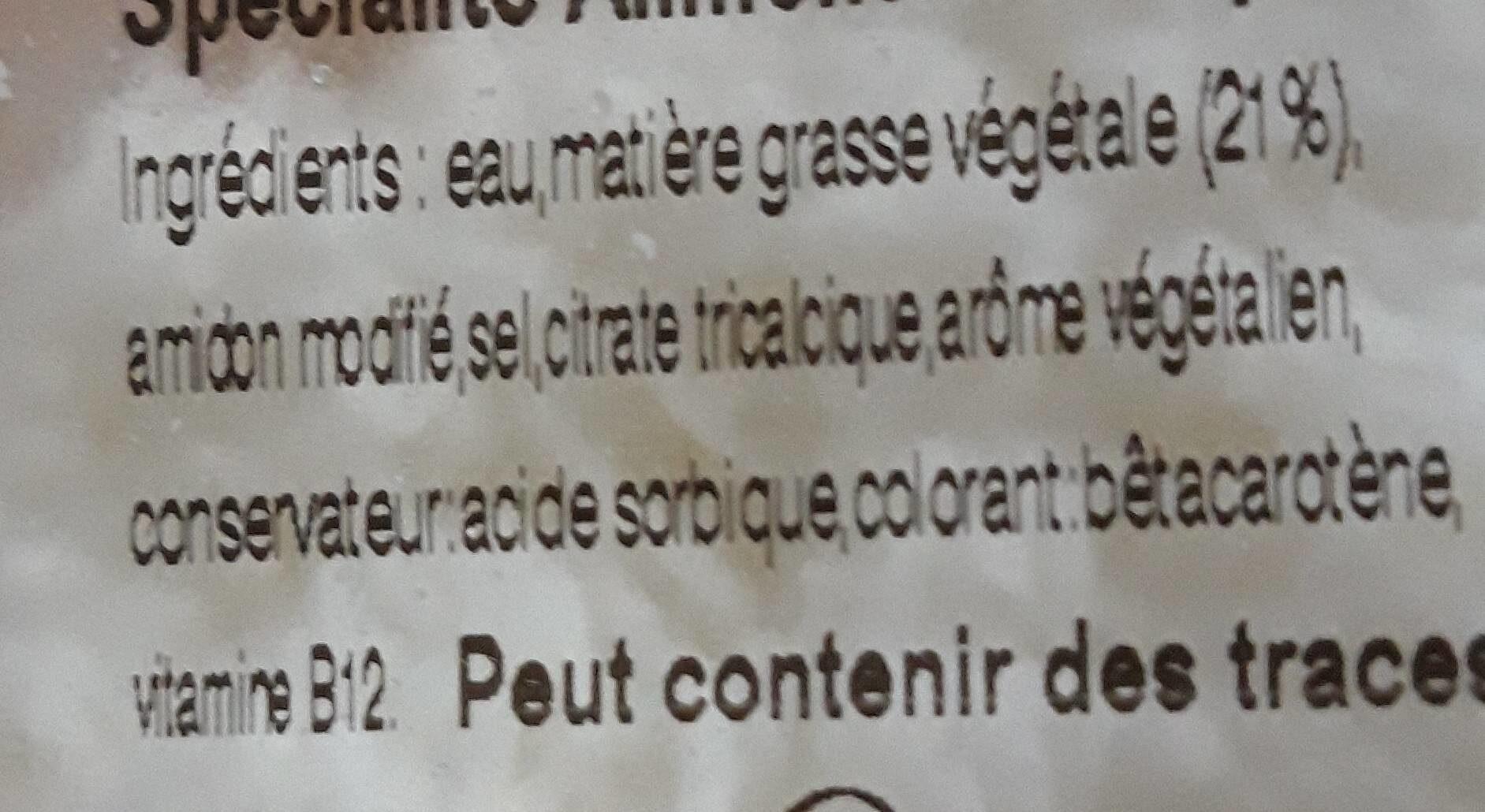 râpé spécial pizza - Nutrition facts - fr