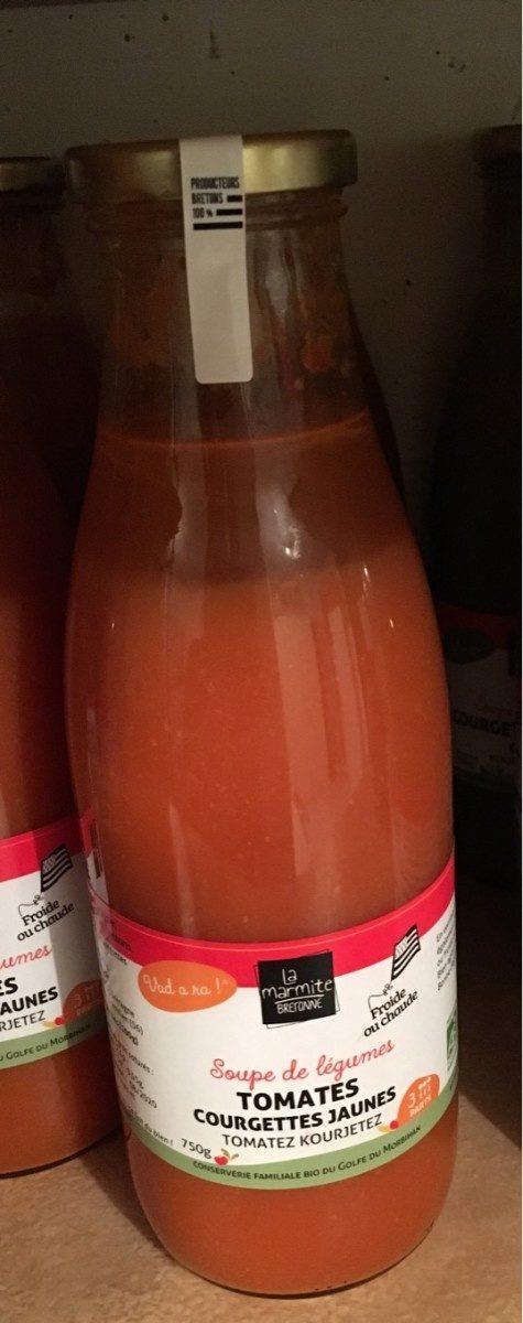 Soupe Tomates Courgettes jaunes - Product