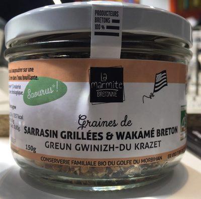 Graines de Sarrasin grillées & Wakamé Breton - Product