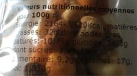 Mix Mexican - Nutrition facts