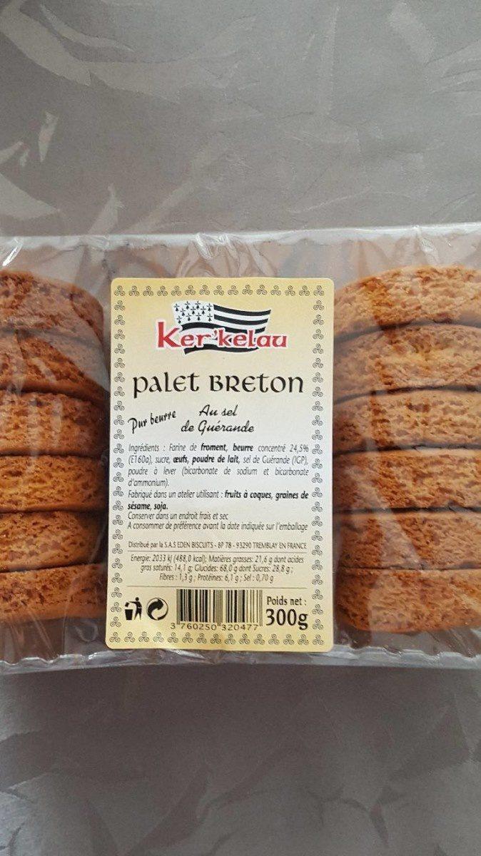 Palet breton au sel de guérande - Product - fr