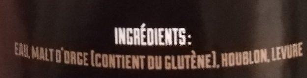 Brune - Ingrédients