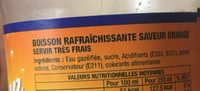 Orange - Ingredients - fr