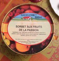Sorbet aux fruits de la passion - Prodotto - fr