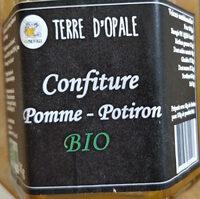 Confiture Pomme Potiron Bio - Produit - fr