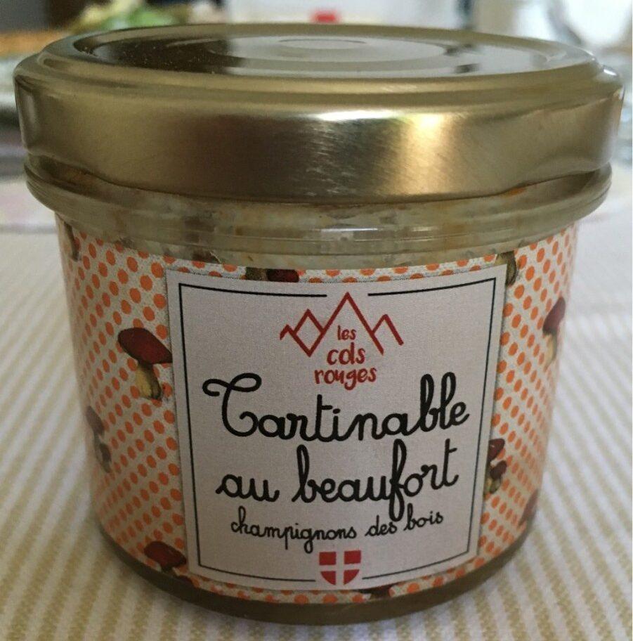 Tartinable au beaufort champignons des bois - Product - fr