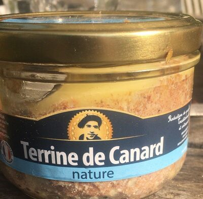 Terrine de canard nature - Produit