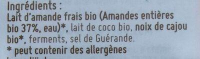 Jeanne le bleuté végétal - Voedingswaarden