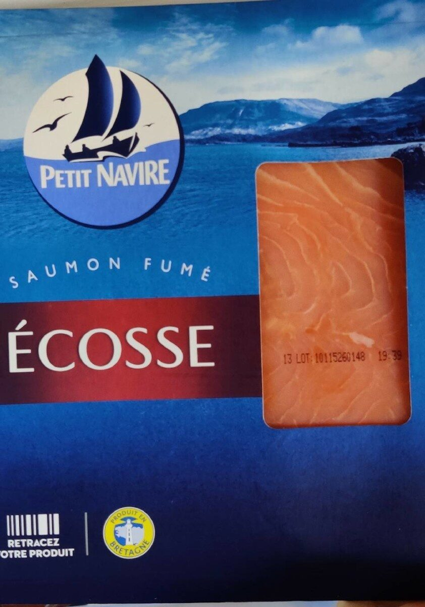 Saumon fumé ecosse - Produit - fr